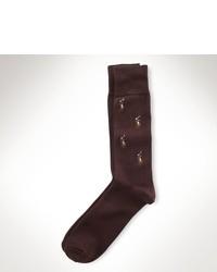 Chaussettes marron