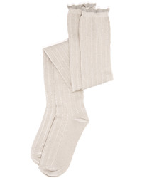 Chaussettes montantes blanches Free People