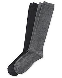 Chaussettes montantes grises Relativity