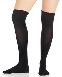 Chaussettes montantes noires