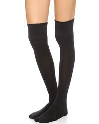 Chaussettes montantes noires Spanx