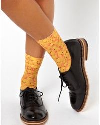 Chaussettes moutarde Asos