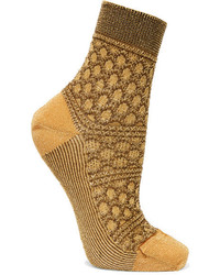 Chaussettes moutarde Missoni