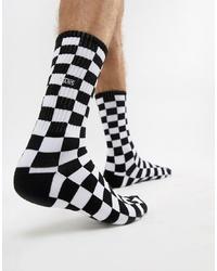 Chaussettes noires et blanches Vans