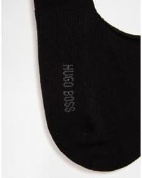 Chaussettes noires Hugo Boss