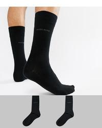 Chaussettes noires BOSS