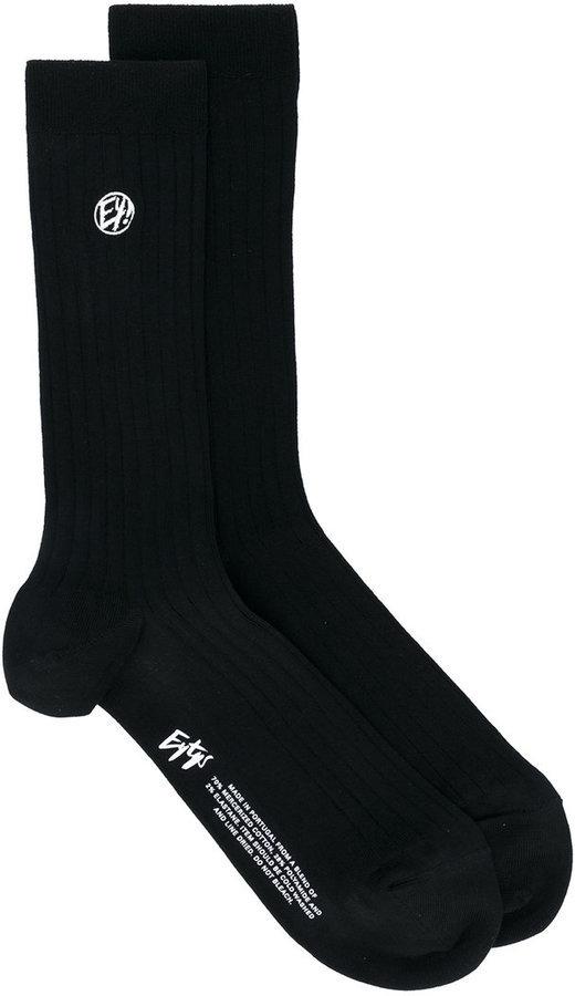 Chaussettes noires Eytys