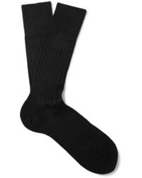 Chaussettes noires Falke
