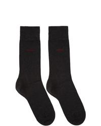 Chaussettes noires Hugo
