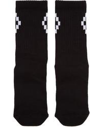 Chaussettes noires Marcelo Burlon County of Milan