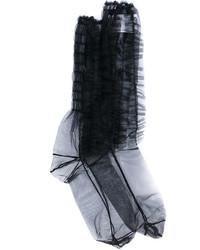Chaussettes noires MSGM