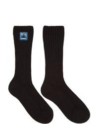 Chaussettes noires Prada