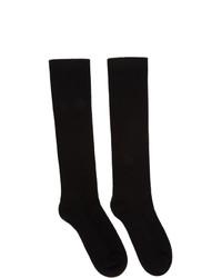 Chaussettes noires Rick Owens