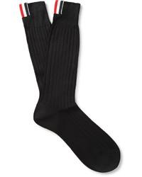 Chaussettes noires Thom Browne
