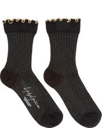 Chaussettes noires Yohji Yamamoto