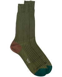 Chaussettes olive Paul Smith