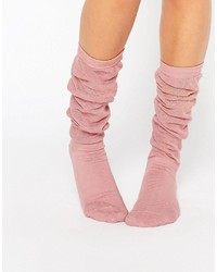 Chaussettes roses Asos