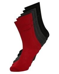 Chaussettes rouges Bugatti