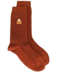 Chaussettes rouges Folk