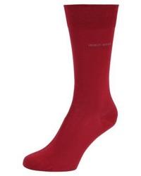 Chaussettes rouges Hugo Boss