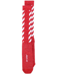 Chaussettes rouges Off-White