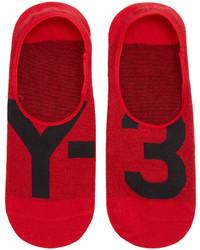 Chaussettes rouges Y-3