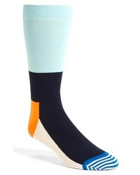 Chaussettes turquoise