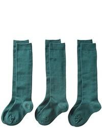 Chaussettes vert foncé