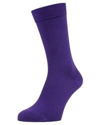 Chaussettes violettes Pantone