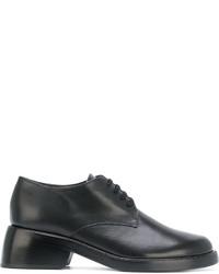 Chaussures à lacet en cuir noires Ann Demeulemeester