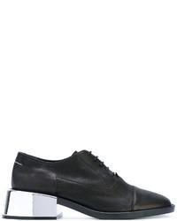 Chaussures à lacet noires MM6 MAISON MARGIELA
