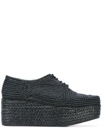 Chaussures à lacet noires Robert Clergerie