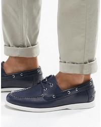 Chaussures bateau bleu marine Asos
