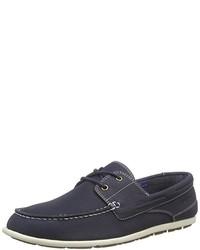 Chaussures bateau bleu marine Rockport