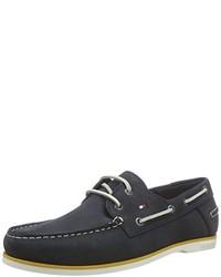 Chaussures bateau bleu marine Tommy Hilfiger
