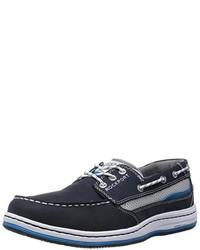 Chaussures bateau bleues marine Rockport