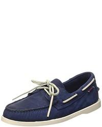 Chaussures bateau bleues marine Sebago