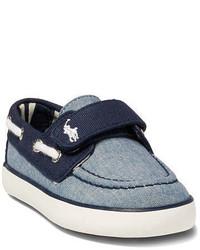 Chaussures bateau bleues
