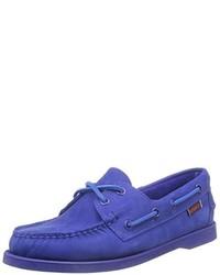 Chaussures bateau bleues Sebago