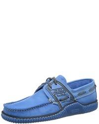 Chaussures bateau bleues TBS
