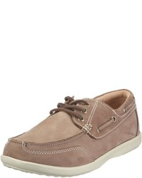 Chaussures bateau brunes claires Chung Shi