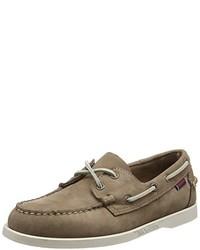 Chaussures bateau brunes Sebago