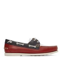 Chaussures bateau en cuir multicolores Polo Ralph Lauren