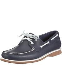 Chaussures bateau gris foncé Clarks