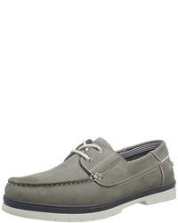 Chaussures bateau grises camel active