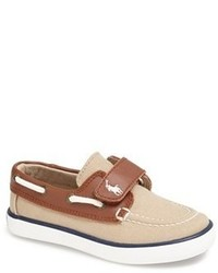 Chaussures bateau marron clair