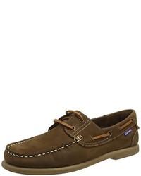 Chaussures bateau marron foncé Chatham