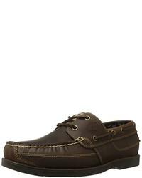 Chaussures bateau marron foncé Timberland