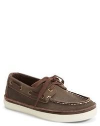 Chaussures bateau marron