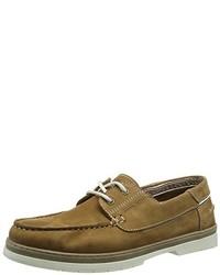 Chaussures bateau marron camel active